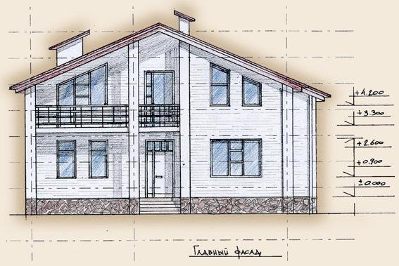 Дизайн домов с верандами